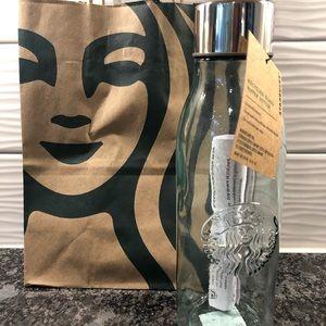 Starbucks Recycled Glass 20oz Water Bottle